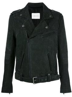 байкерская куртка на молнии Pierre Balmain