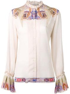 рубашка с оборками Etro