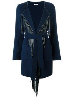 пальто с бахромой  P.A.R.O.S.H.
