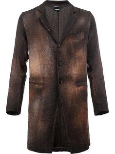 пальто с выгоревшим эффектом Avant Toi