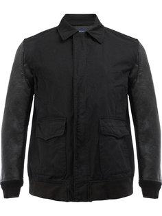 куртка-бомбер с контрастными рукавами Junya Watanabe Comme Des Garçons Man