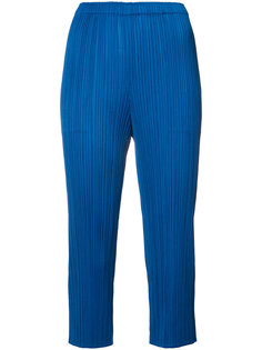pleated cropped trousers  Issey Miyake