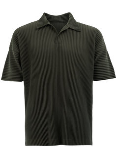 pleated polo shirt Homme Plissé Issey Miyake