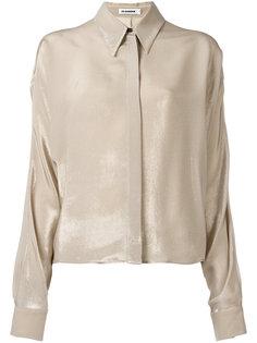 драпированная рубашка Jil Sander