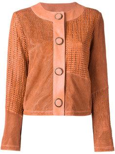 куртка без воротника Drome
