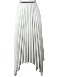 плиссированная асимметричная юбка Aviù