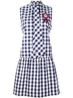 платье в клетку  Love Moschino