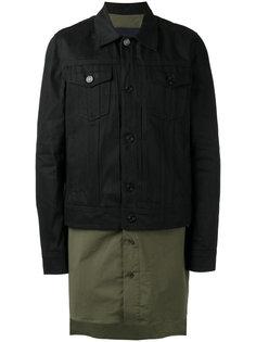 куртка с удлиненным подолом Juun.J