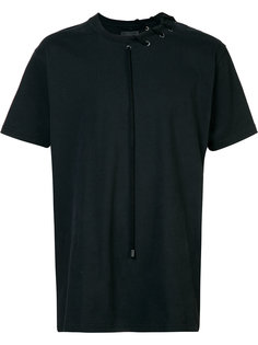 laced short sleeve T-shirt Craig Green
