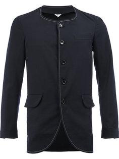 пиджак узкого кроя с закругленным подолом Comme Des Garçons Homme Plus
