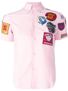 рубашка с нашивками  Dsquared2