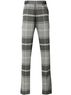 клетчатые костюмные брюки Vivienne Westwood Man