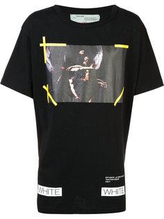 свободная футболка Auction House Off-White