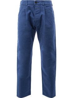 укороченные зауженные брюки Ganryu Comme Des Garcons