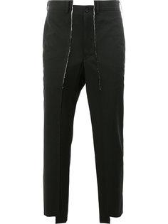 асимметричные костюмные брюки Comme Des Garçons Homme Plus
