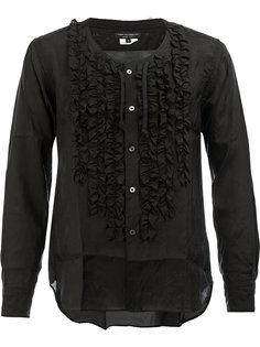 рубашка с рюшами Comme Des Garçons Homme Plus