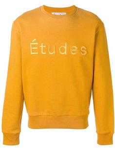 толстовка с логотипом Études
