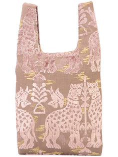 patterned shopper tote  Hayward