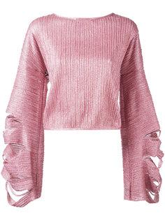 блузка с расклешенными рукавами Aviù