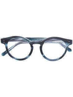 round frame sunglasses Linda Farrow