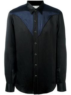 рубашка в стиле вестерн  Saint Laurent
