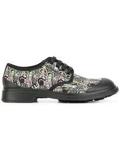ботинки-дерби с рисунком Société Anonyme