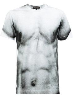 футболка с принтом груди Comme Des Garçons Homme Plus