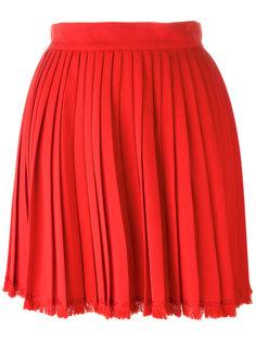 pleated mini skirt Versace Vintage