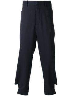 брюки на пуговицах  Marni