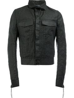 укороченная джинсовая куртка Cedric Jacquemyn