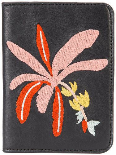 Banana Tree passport case  Lizzie Fortunato Jewels