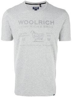 logo print T-shirt Woolrich