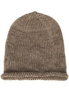 шапка-бини с перфорацией Isabel Benenato
