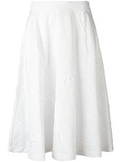 юбка с мятым эффектом Jil Sander