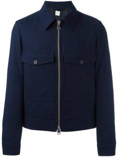 куртка на молнии с накладными карманами Ami Alexandre Mattiussi