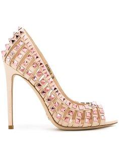 туфли-лодочки с заклепками Gianni Renzi