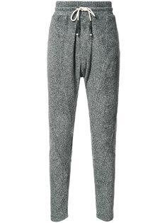 спортивные брюки с заниженной шаговой линией Mostly Heard Rarely Seen