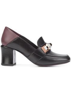 туфли-лодочки с заклепками Fendi