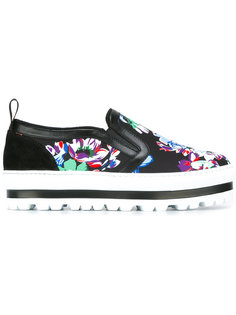 floral print trainers  MSGM
