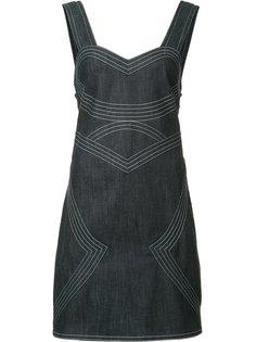 платье с контрастной строчкой Derek Lam 10 Crosby