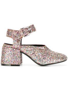 туфли с отделкой мелкими блестками Mm6 Maison Margiela