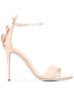 ankle strap stiletto sandals René Caovilla