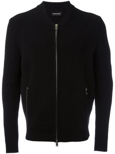 zip up cardigan  Exemplaire