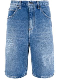 джинсовые шорты J.W.Anderson