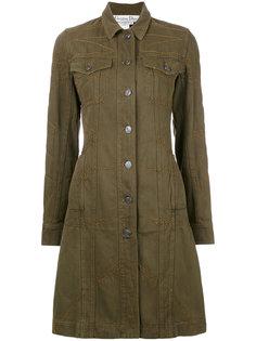 stitch detail coat Christian Dior Vintage