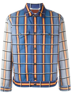 джинсовая куртка в клетку J.W.Anderson