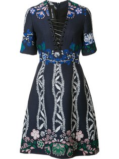 жаккардовое платье Spring Field Yigal Azrouel