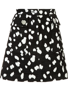 jacquard mini skirt Adam Lippes