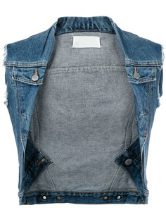 twisted denim vest Maison Margiela Vintage
