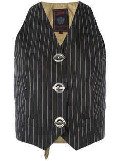 pinstripe vest Jean Paul Gaultier Vintage